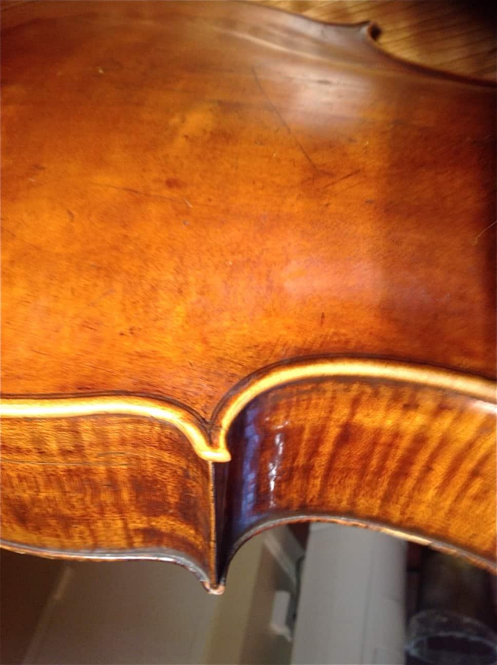 Violin Repair - AFTER